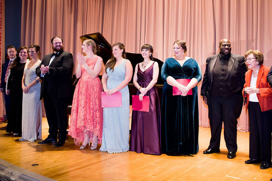 2017 Mildred Miller International Voice Competition winners