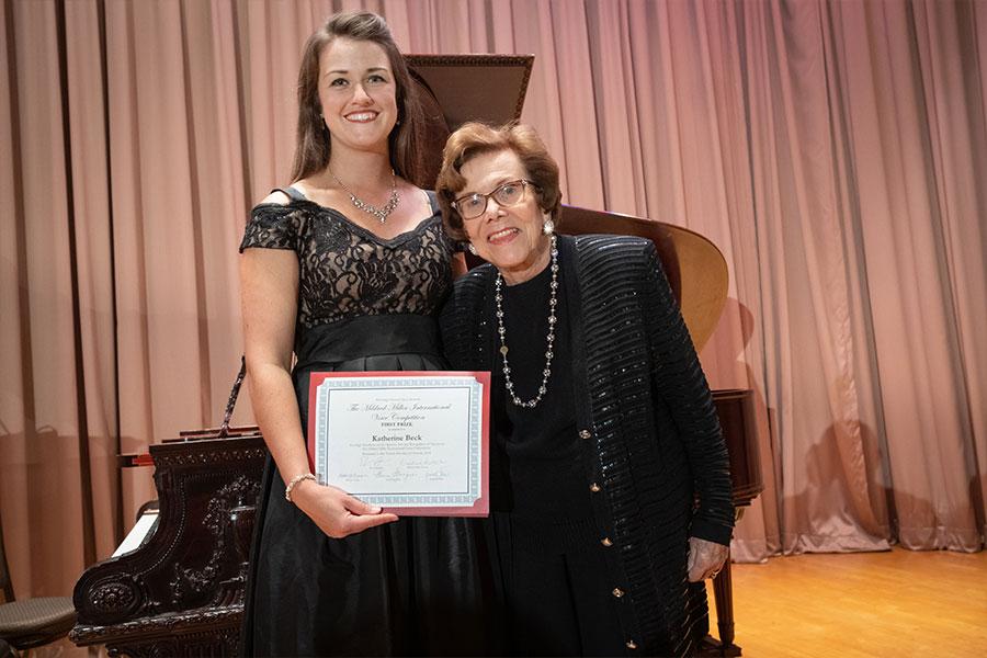 2018 Mildred Miller International Voice Competition winner