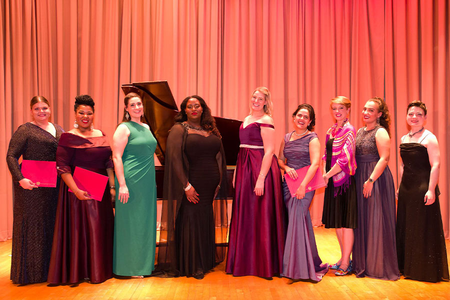 2019 Mildred Miller International Voice Competition winners