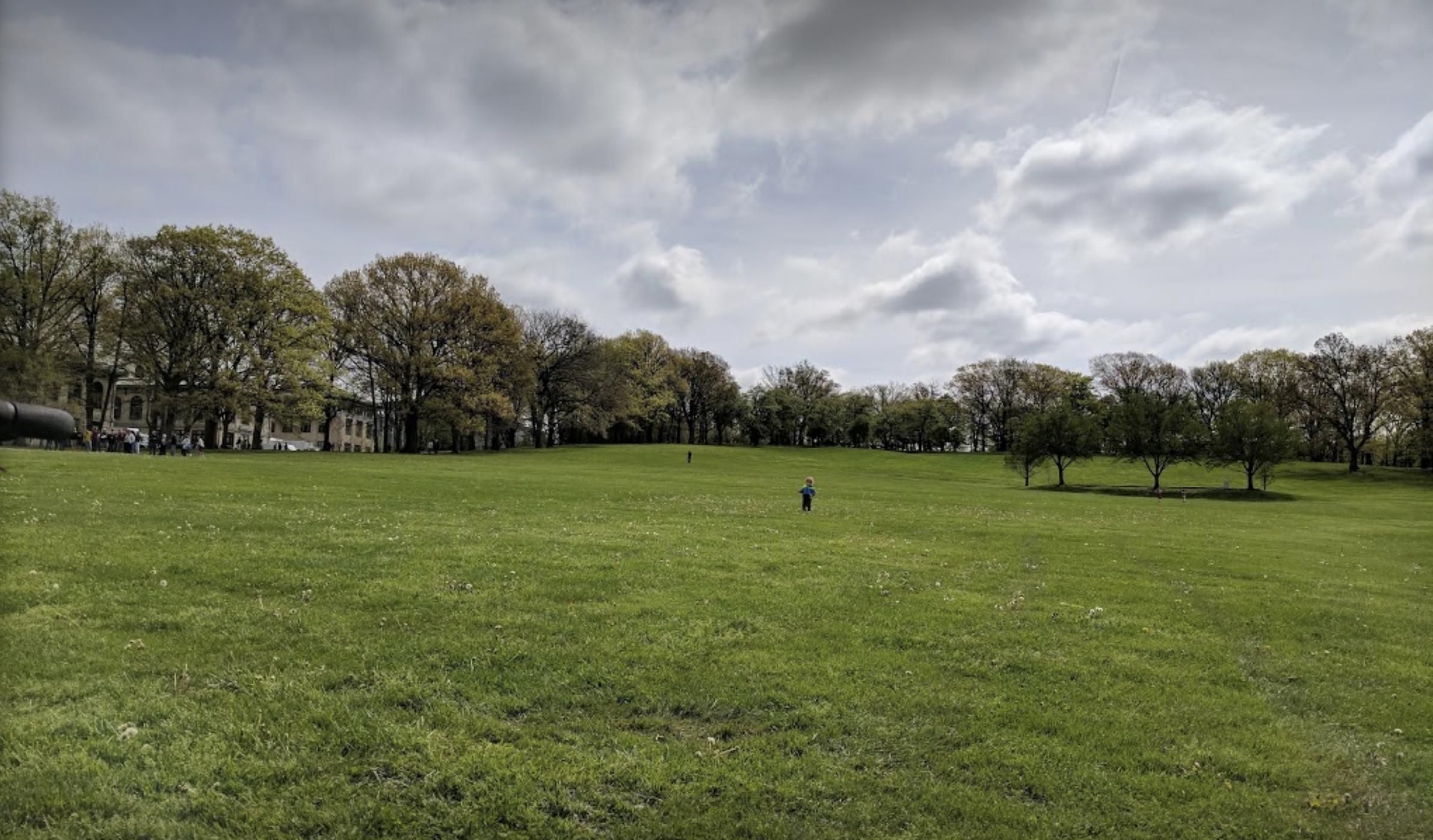 Flagstaff Hill in Schenley Park